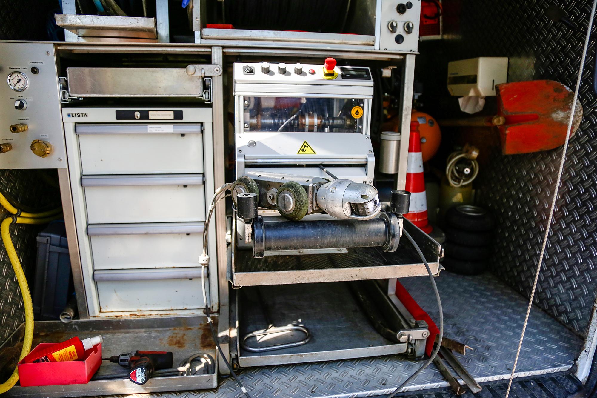 TV-Untersuchung ab Durchmesser 200mm